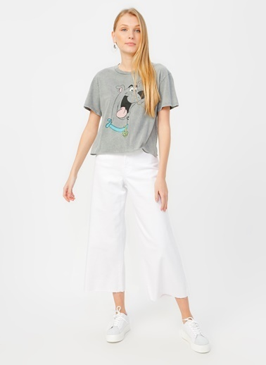 Mavi Mavi Bodrum White 90'S Str Denim Pantolon Renksiz